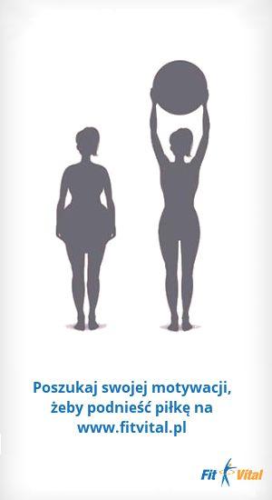 Poszukaj swojej motywacji żeby podnieść piłkę na www.fitvital.pl