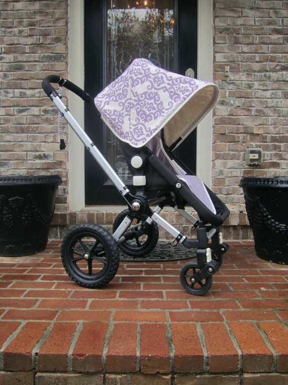 Custom Bugaboo Stroller Canopy and Seat Cover for Frog - you choose color combo. $168.00, via Etsy.