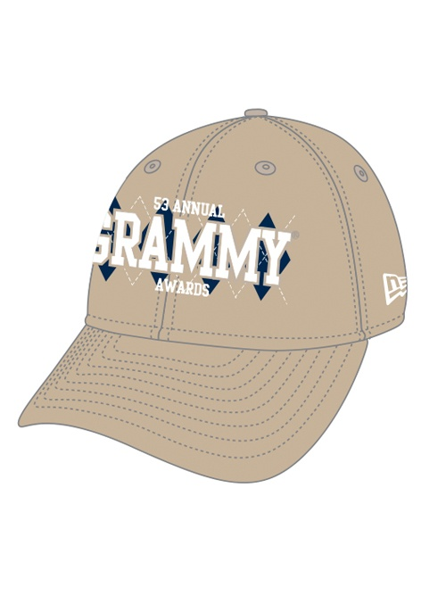 53rd Grammys - Fitted Diamond Hat: Diamonds Hats, Grammi Gears, Fit Diamonds, 53Rd Grammi