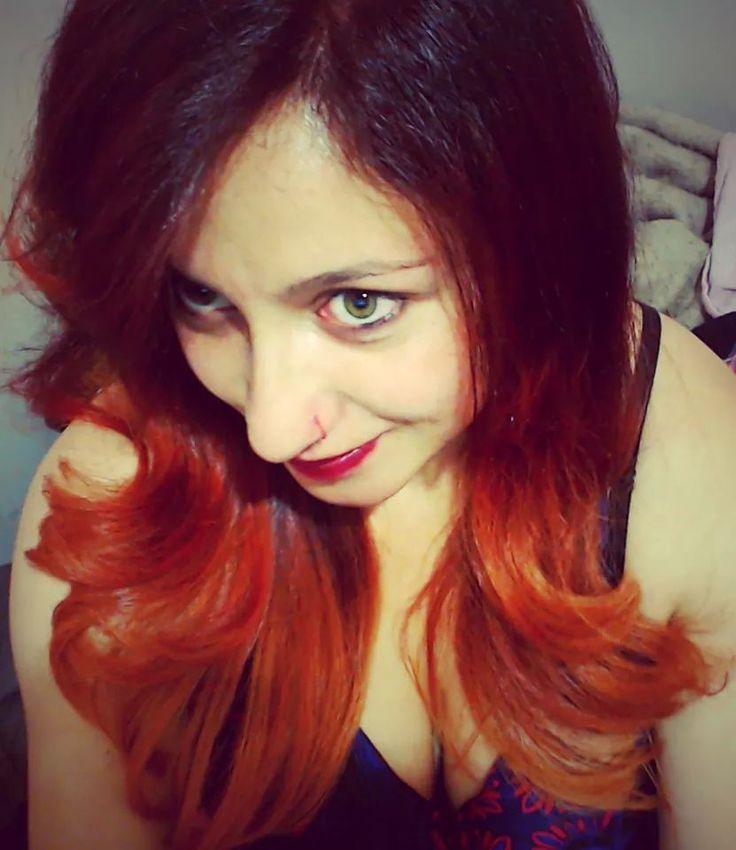 Ombre redhead