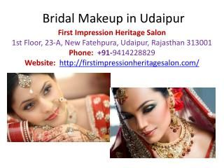 Our Bridal makeup package includes pre wedding makeup and Bridal makeup. In pre wedding package we include hair trim, scalp massage, conditioning, full body bleach, body waxing, face threading (eye brow, upper lips, forehead and chin), body scrub, and spa facials.
