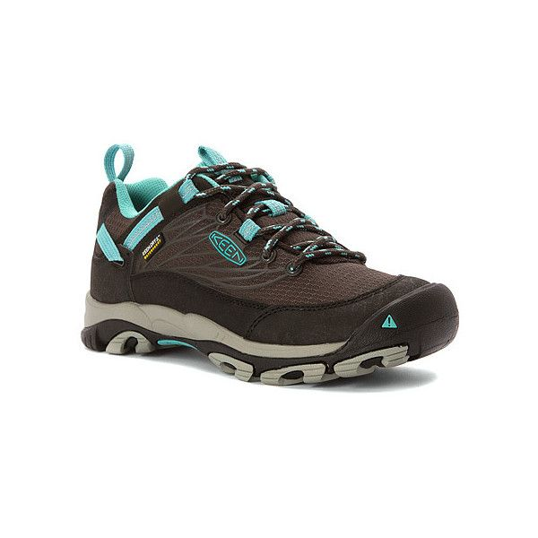 KEEN Saltzman WP ($130) ❤ liked on Polyvore featuring shoes, hiking shoes,