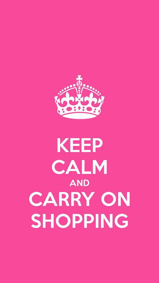 Calmati e continua a fare shopping ❤️❤️❤️