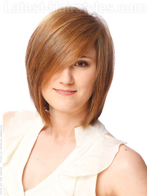 short layered haircut with bangs 167 best images about hair on light brown bob 4047 | 948501ab45a565f02224084000f0f13a