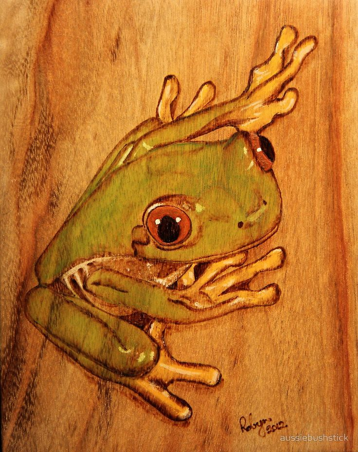 Landscape Pyrography Google Search Pyrography Tree Frogs Wood
