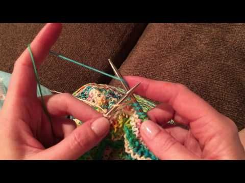 F8CM Stitch Continental Knitting - YouTube - Antony Casalena