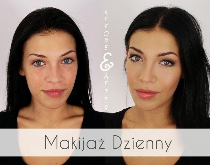 Makijaż  dzienny.