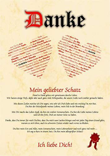 Liebeserklärung - Geschenkidee Valentinstag Mann Frau - B