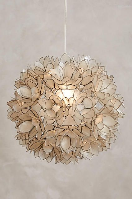 Coppice Shell Pendant - anthropologie.com