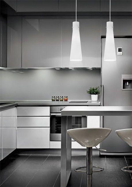 Lampy Kuky nad wyspę kuchenną. Producent: Ideal Lux
