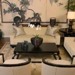 Asian Living Rooms With Nice White Sofa For Fabulous And Delightful Oriental Room Chair Inspiring Design Ideas