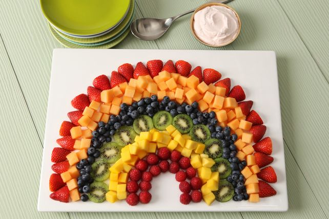 This is a fun and easy way to serve fruit salad!
