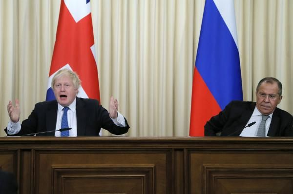 Boris Johnson and Sergei Lavrov were at odds during a joint news conference Friday, as the two clashed over differences and accused each…