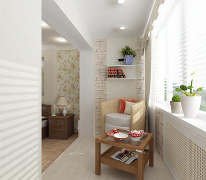балкон - продолжение комнаты