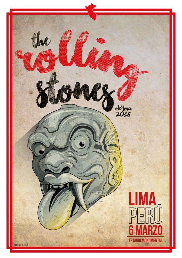The Rolling Stones - 2016 - Olé Tour - Lima - Peru