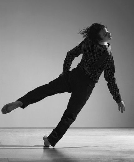 """That moment when you are so in tune with your body that you can """"fall"""" and recover in one swift, fluid motion."""