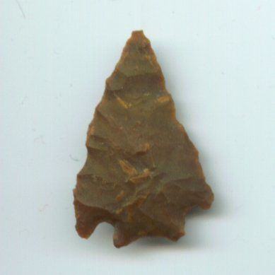 Cherokee Indians were very resourceful. An example of this is how they made arrowheads.
