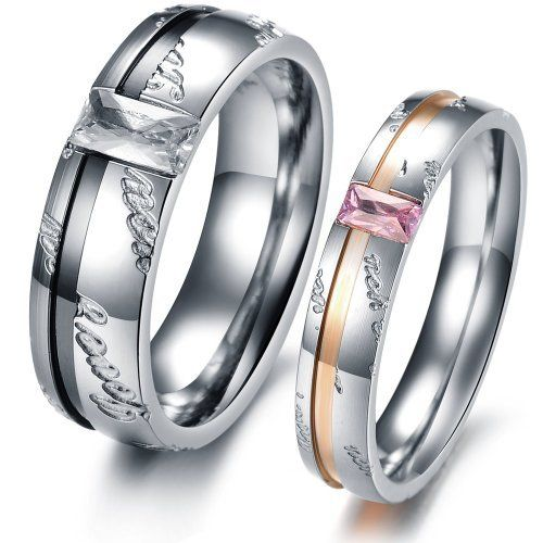 OPK Fashion Couple Rings Stainless Steel Wedding Band Promise Love Shine Crystal 327 (Women's Rings, 9) OPK,http://www.amazon.com/dp/B00AUNNCTI/ref=cm_sw_r_pi_dp_aroWrbBE940B42A0