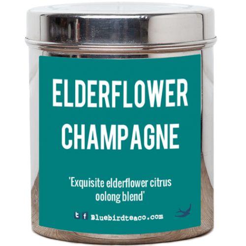 Elderflower Champagne Tea | Bluebird Tea Co.