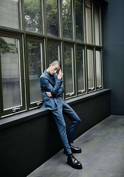 Kim Won Jung and Park Sung Jin for Style Chosun Oct 2014 by Zo Sun Hi