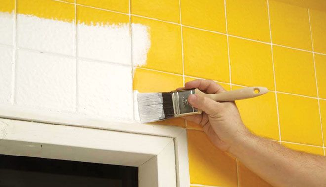 painting tile counter - Google Search