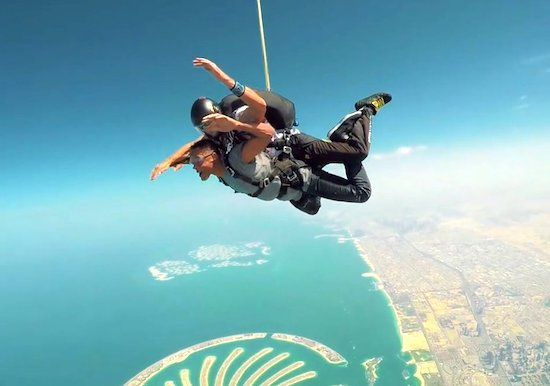 will smith skydive experience
