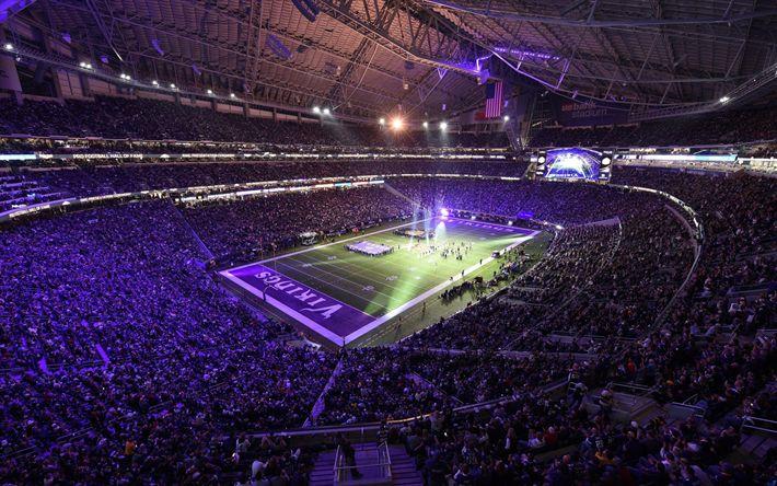 Herunterladen hintergrundbild centurylink field stadion, nfl, seattle seahawks, usa, centurylink field, amerika, seattle