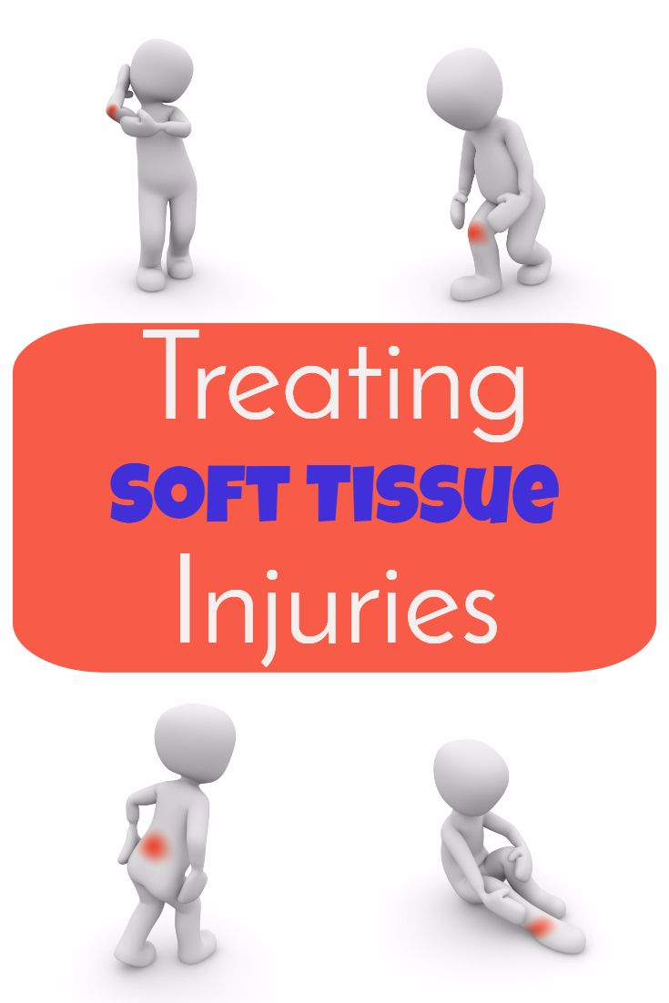 Treatment of Soft Tissue Injuries is very important in the first 24-48 hours, for the best recovery