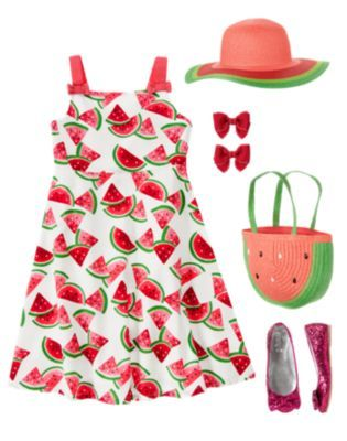 Kid Girl – Summer 2012 Watermelon Line