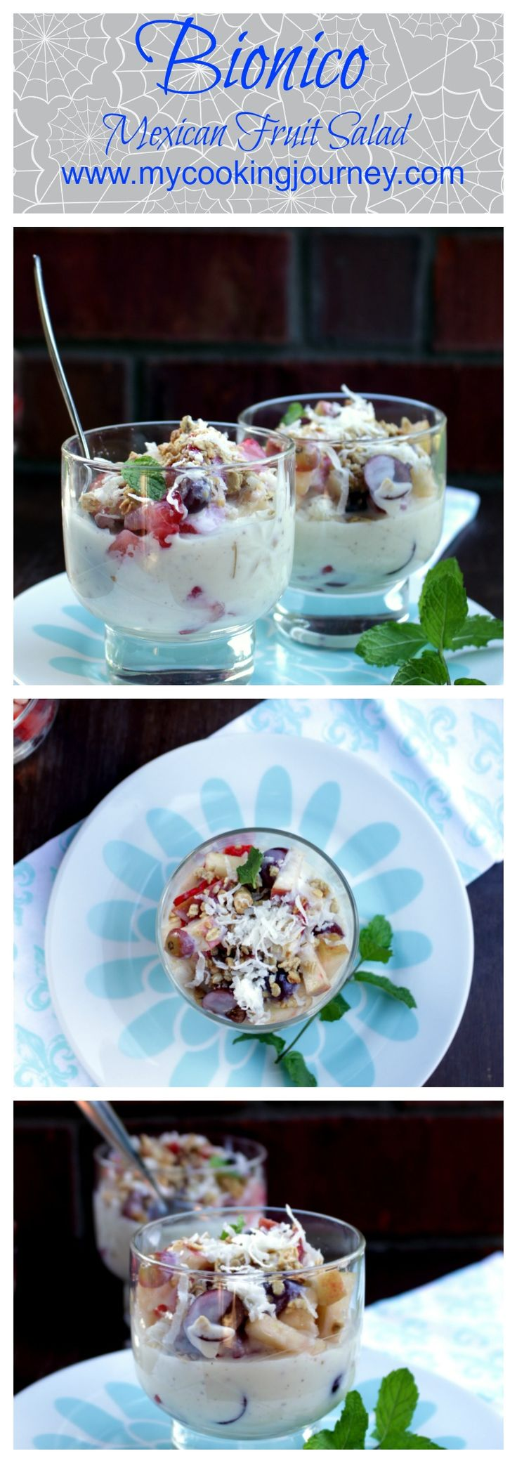 Simple and Easy to make Mexican Fruit salad!