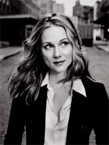 Laura Linney { a truly great actress; she embodied Abigal Adams in John Adams }