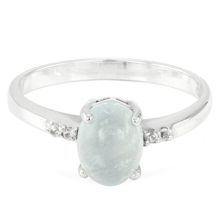 Zilveren+ring+met+een+blauwe+aragoniet+-+prachtig+ontwerp.+Vakmanschap+tegen+scherpe+prijzen.+Direct+van+de+fabrikant.+Met+certificaat+van+echtheid.