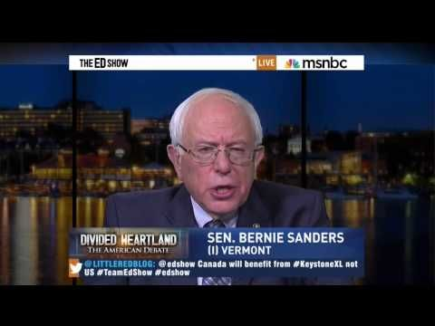 Bernie Sanders Shatters The Big Keystone XL Lie: Pipeline Will Cause US Gas Prices To Go Up