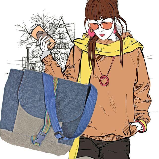#DIY in #Berlin -Blödes Wetter? Viel Kram mitzunehmen? Kein Problem mit den fantastischen Taschen von Dagmaris!