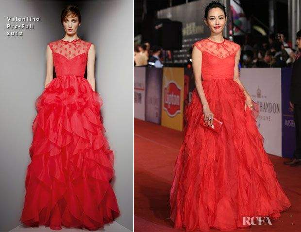 Bai Baihe In Valentino – 2012 Golden Horse Awards- This dress is a work of art