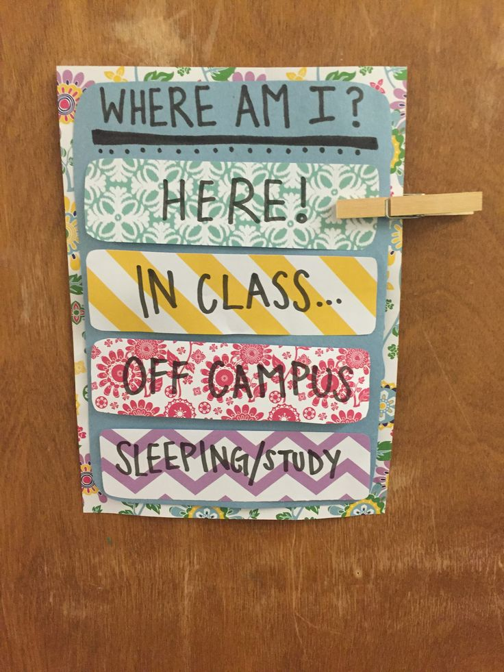 "Resident Assistant ""Where Am I?"" Door Dec."