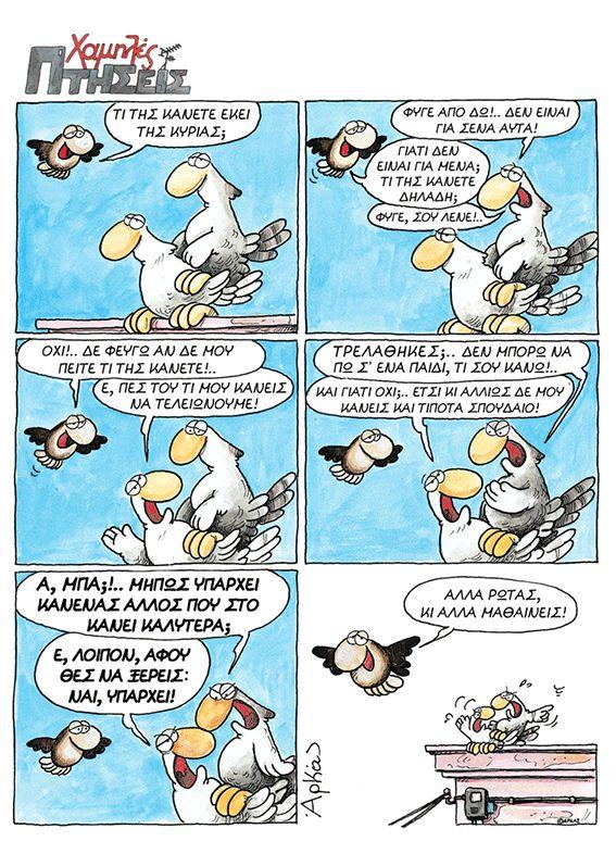 Χαμηλές Πτήσεις   αρχικη, αρκας εν κινησει   ethnos.gr