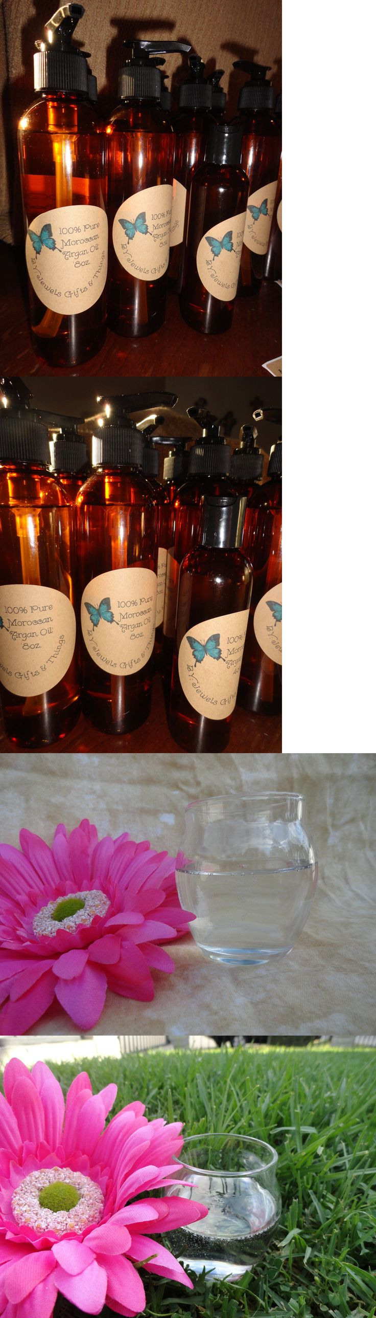 Relaxers and Straightening Prod: 100% Pure Moroccan Argan Oil Clear Cold Pressed All Hair Types BUY IT NOW ONLY: $31.05