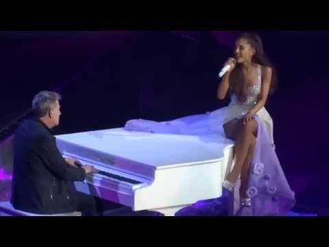 "Watch Ariana Grande's Masterful Live Cover Of Whitney Houston's ""I Have Nothing"" @lessmore89"