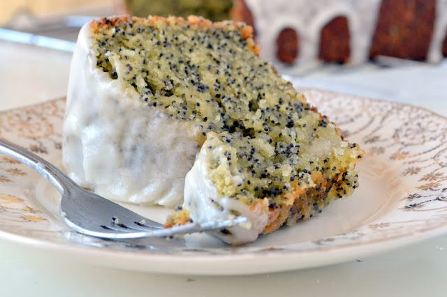 Amaretto Poppy Seed Cake - The View from Great Island