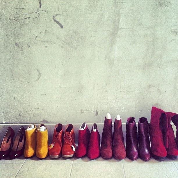 Real shoe mania!!!