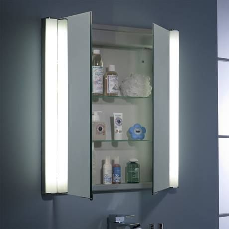 Roper Rhodes Transition Recessible Illuminated Mirror Cabinet