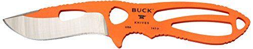 Buck Knives 141 Large Skinner Knife with Orange Traction Coating and Nylon Sheath  https://www.safetygearhq.com/product/tools/buck-knives-141-large-skinner-knife-with-orange-traction-coating-and-nylon-sheath/