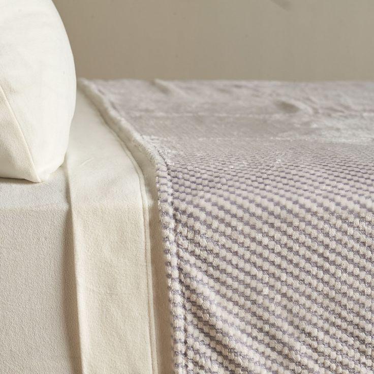 VelvetLoft® Textured Check Polyester Blanket