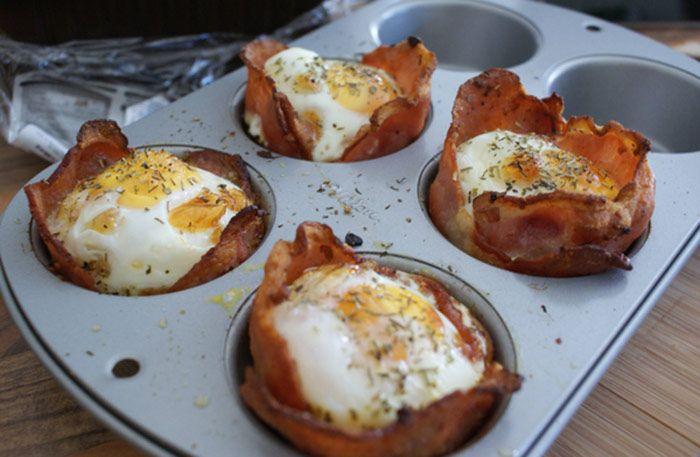 Smarta frukostmuffins