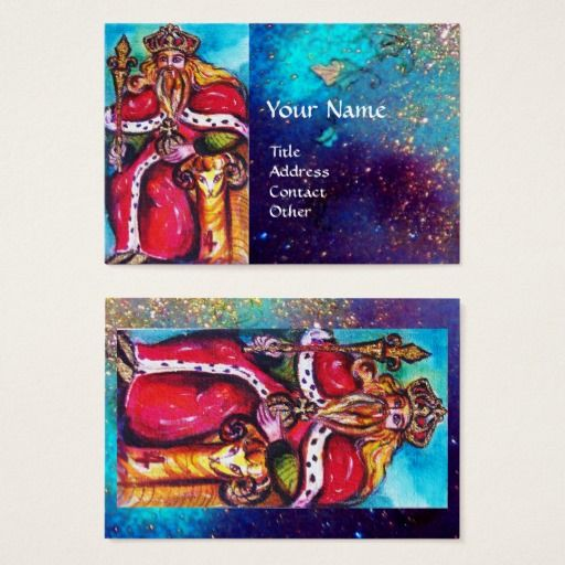 TAROTS OF THE LOST SHADOWS / THE EMPEROR BUSINESS CARD #tarot #psychics #fineart #stars #cartomante #astrology #magic