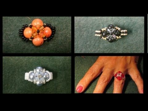 Beading4perfectionists : Very basic beginners ring
