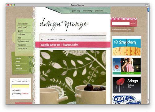 design sponge blog inspiration