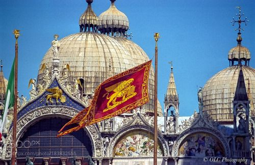 St Marks Basilica Venice Italy by olafchristen1  public 2001 Urlaub Italien Best Sommer Venedig apple tv olafchristen1
