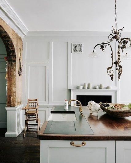 Simple modern home decoration